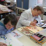 arts plastiques inter generations Mairie de vendeville