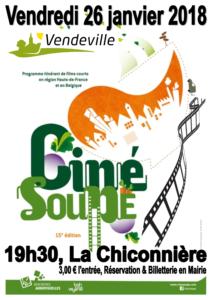 Vendeville Ciné soupe 2018