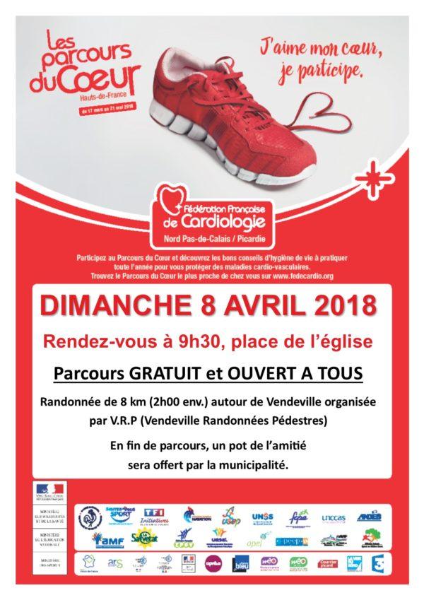 VENDEVILLE_Parcours du Coeur 2018