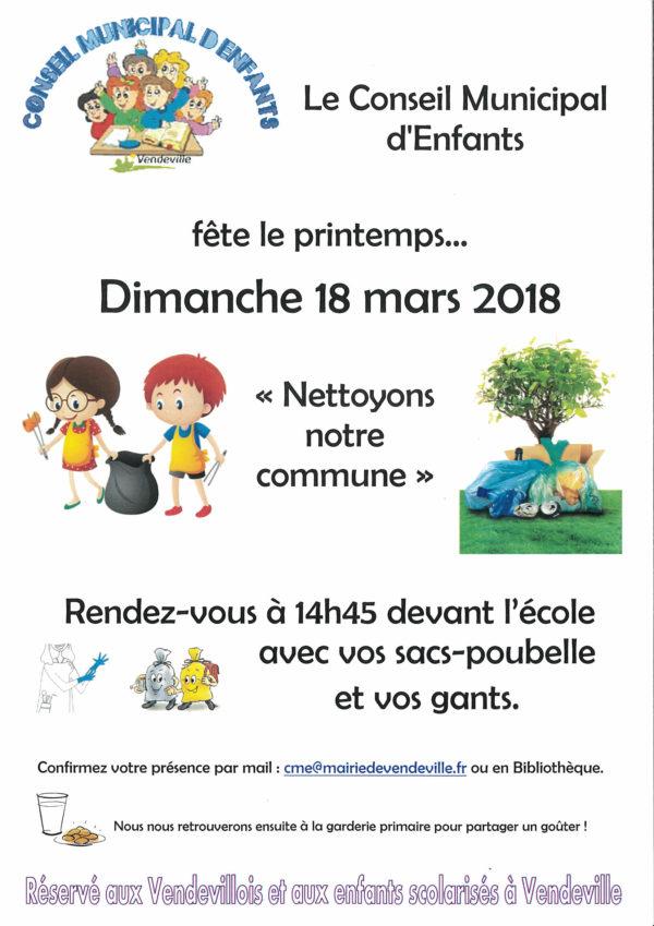 CME 2018_Nettoyons notre commune_Vendeville