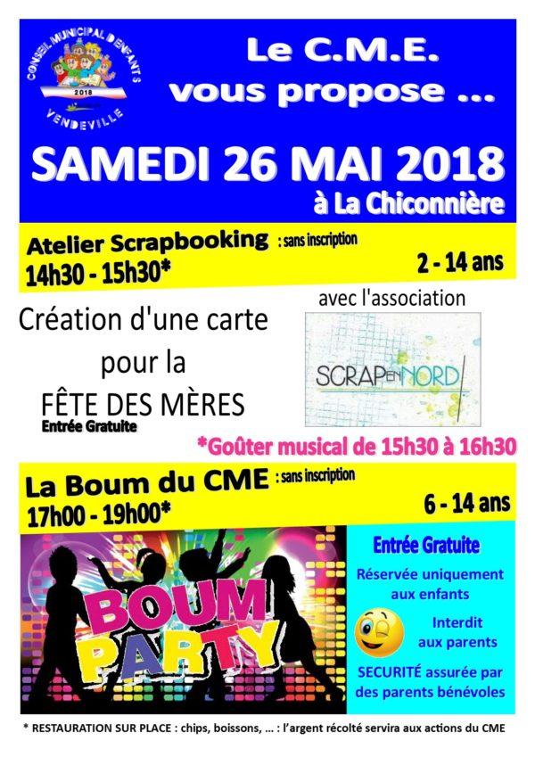 C.M.E Scrapbooking et boum
