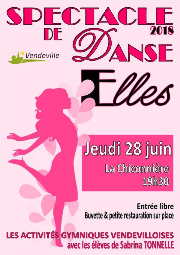 """Spectacle de danse 2018 """"ELLES"""""""
